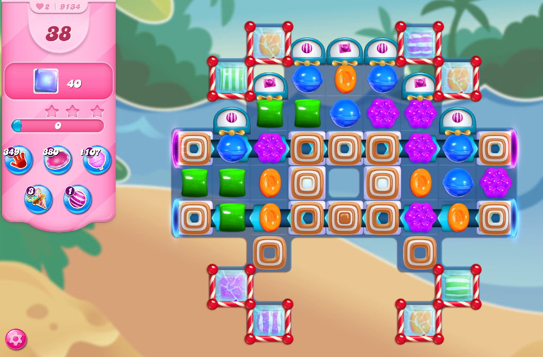 Candy Crush Saga level 9134