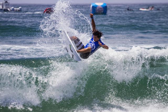 1 Hiroto Ohhara JPN Vans US Open of Surfing Foto WSL Sean Rowland