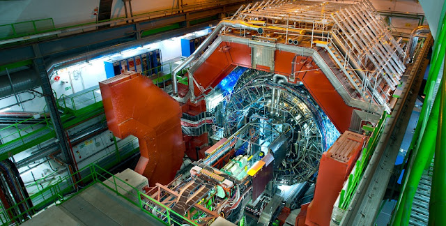 ALICE detector at LHC. Credit: CERN/Saba, A.