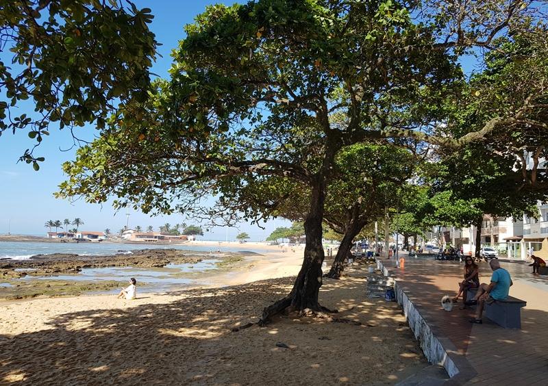Praia das Castanheiras, centro, Guarapari -ES