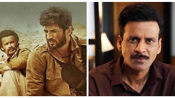 Sushant Singh Rajput Touched Manoj Bajpayee's Feet On First Day Of Sonchiriya Shoot.