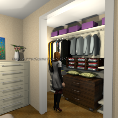 Gli accessori della cabina armadio
