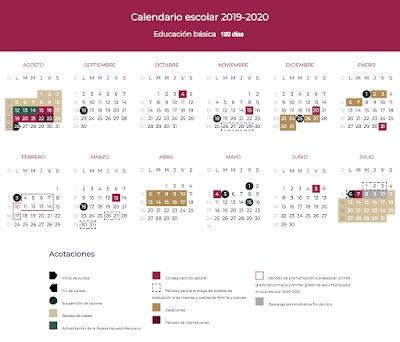 Calendario 2020trackidsp 006.Departamento De Registro Y Certificacion Escolar Del