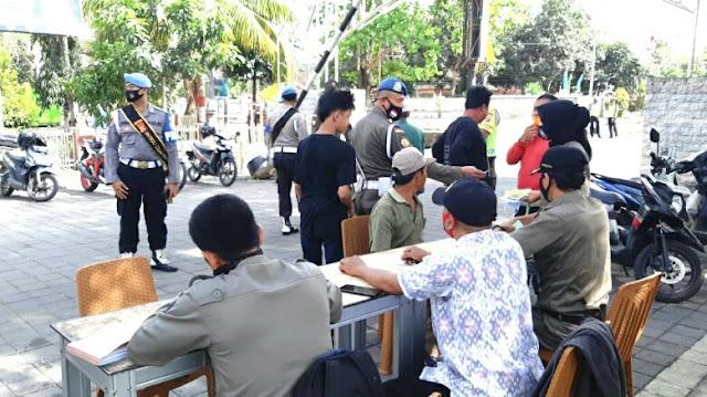 6 hari Operasi Yustisi di Loteng, personil gabungan raup denda Rp 8,5 juta