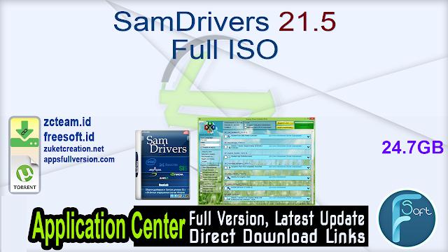 SamDrivers 21.5 Full ISO_ ZcTeam.id