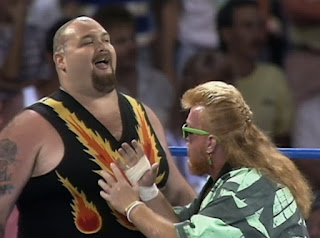 WCW Clash of the Champions XI - Bam Bam Bigelow w/ Sir Oliver Humperdink