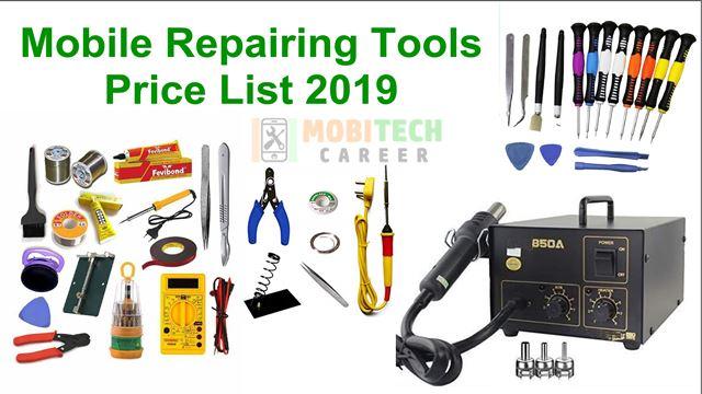 mobile repairing tools price list 2019 pdf