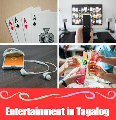 Entertainment Word List in Tagalog
