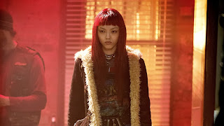 Rila Fukushima as Yukio in The Wolverine 2013 movie Hugh Jackman Logan