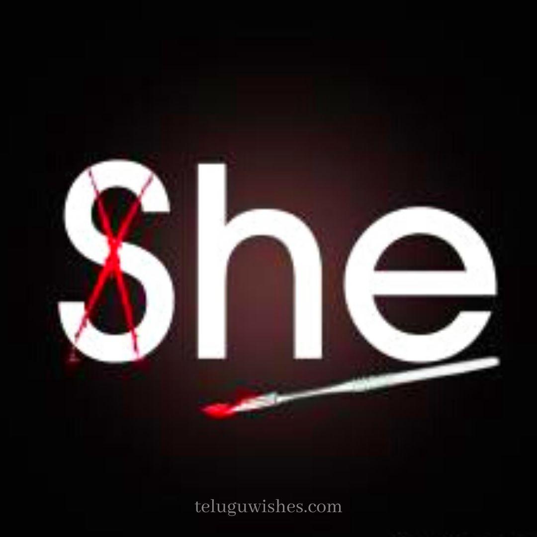 she Save Girl child slogans