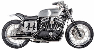 sportster 883 iron mert lawwill and vincent motorcycles tribute
