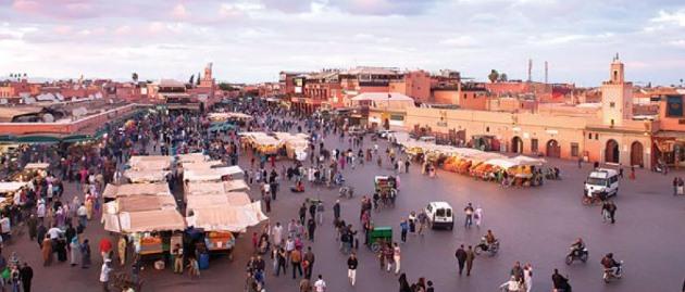 السياحية في مراكش
