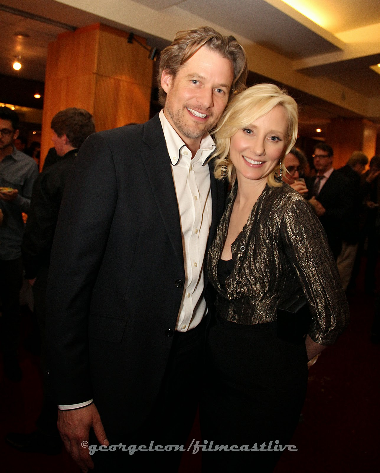 James Tucker, Anne Heche © george leon / filmcastlive