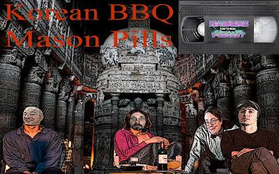 Korean BBQ Mason Pills Raiders Of The podcast