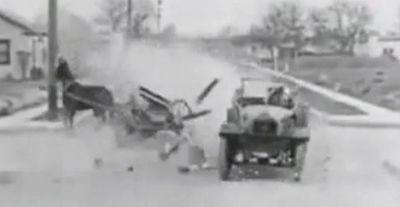 İstanbul'daki İlk Trafik Kazası