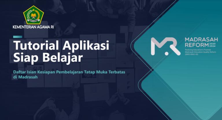 Tutorial Pengisian Aplikasi Siap Belajar Kemenag Kesiapan PTM Terbatas di Madrasah
