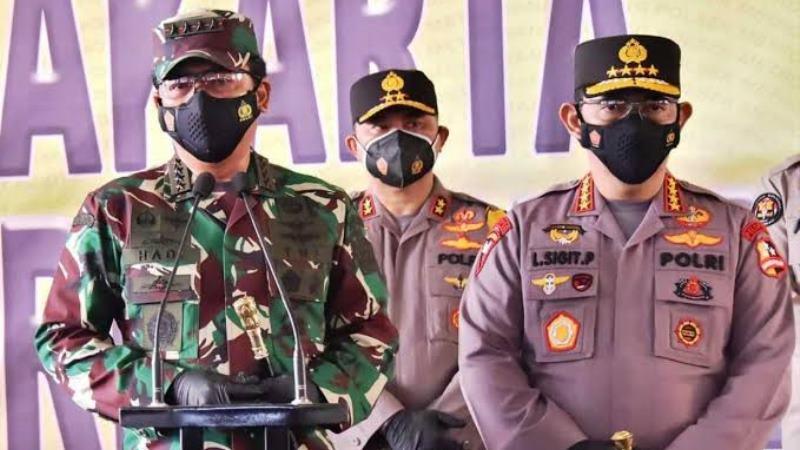 Panglima dan Kapolri Beri Arahan Khusus pada Anggota TNI-Polri yang Bertugas di Papua