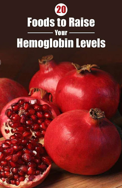 Best 20 Foods To Increase Your Hemoglobin Levels