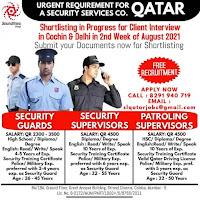Security Guards Vacancy