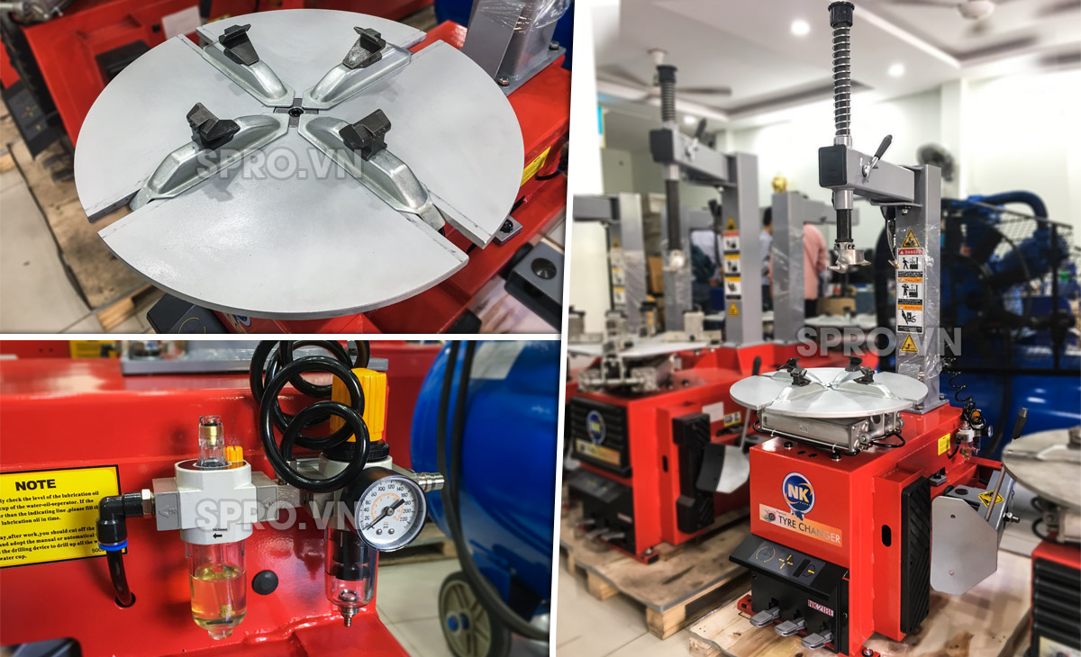 Mua bán máy tháo mở vỏ xe tay ga của Đài Loan NK218E