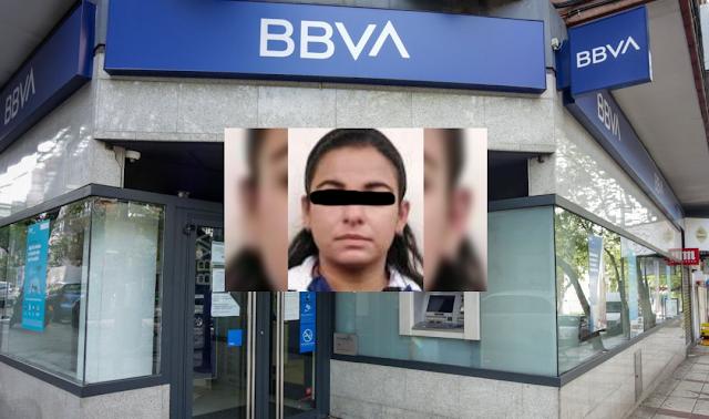 Cae cajera de BBVA por desfalco de 3 mdp en Neza; ponía a los clientes del banco para ser robados-