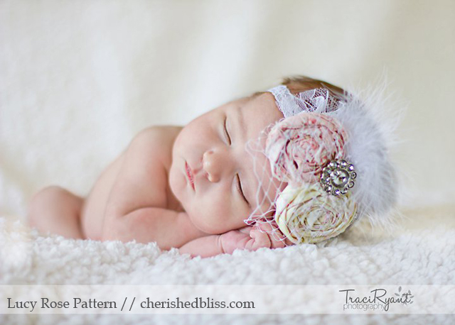how to make a fancy infant headband