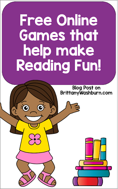 Want to make reading fun in your classroom?  Here are some games to help you out.  Games can also help your students with various computer related fine motor skills such as clicking and dragging, typing and hand eye coordination.