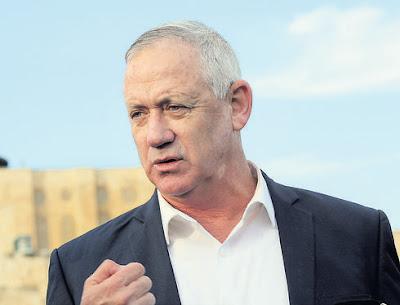 Gantz visitará a Jordânia devido às tensões