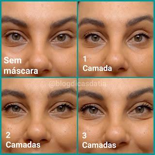 resenha supermascara tint faces natura versão lavavel dicas da tia versão