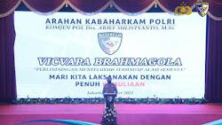 Kabaharkam Polri Komjen Arief Sulistyanto: Kita Kerjakan Tugas Dengan Kemuliaan