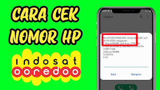 4 Cara Cek Nomor Indosat Ooredoo (IM3 dan Matrix) di HP Android
