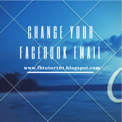 Change Your Facebook Email