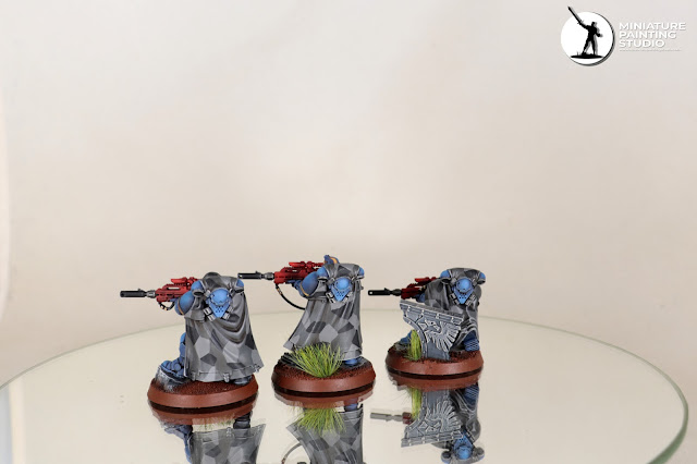 Warhammer 40K Ultramarines Eliminators nice cammo