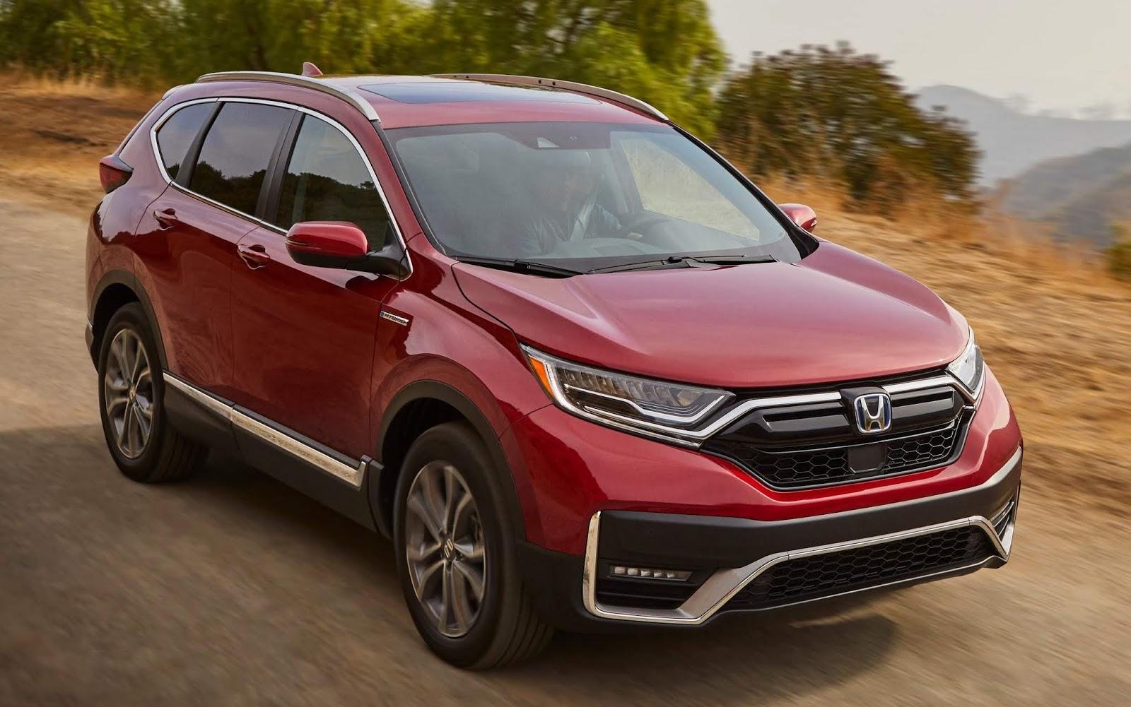 Honda CR-V Hybrid 2020 fica mais potente e econômico | CAR ...