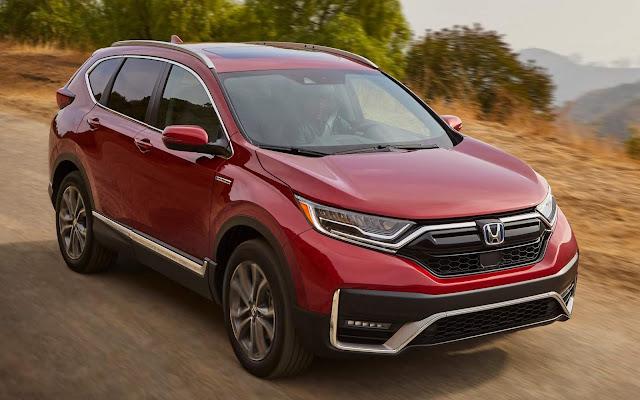 Honda CR-V Hybrid 2020 fica mais potente e econômico