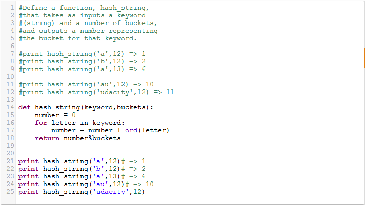 Python Hash function for strings | Python Basics