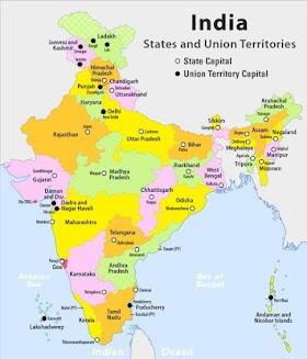 Coastal States of India