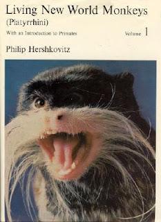 Living New World Monkeys Platyrrhini Volume 1 by Philip Hershkovitz