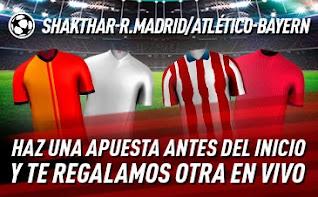 sportium Promo Real Madrid / Atlético champions 1 diciembre 2020