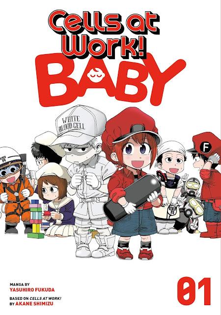 Cells at Work Baby termina en 2 capítulos.