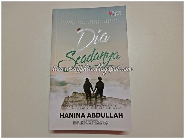 Novel | Dia Seadanya by Hanina Abdullah