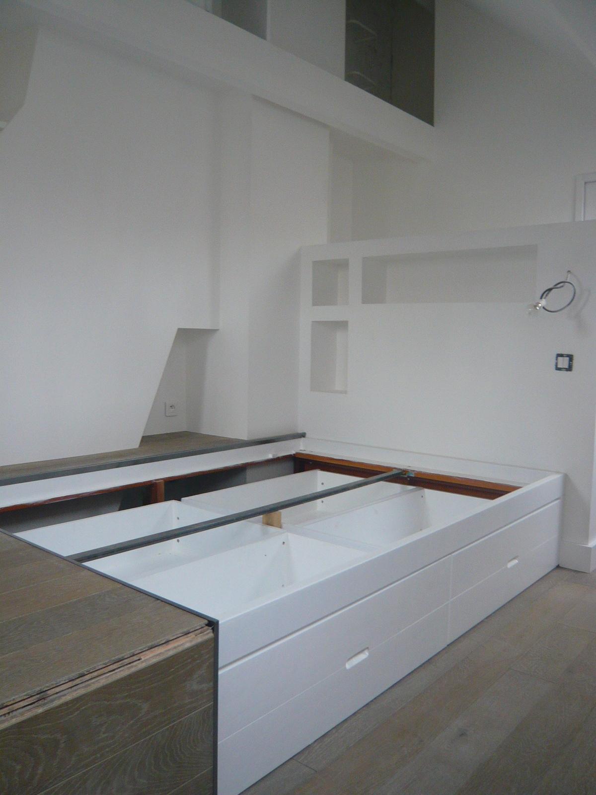 estrade lit coulissant good estrade chambre img with estrade lit coulissant finest awesome. Black Bedroom Furniture Sets. Home Design Ideas
