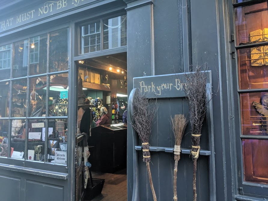 Image - Park your broomstick in York