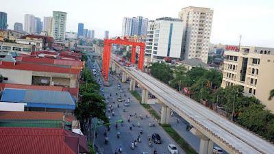Đường sắt đô thị Hà Nội 'đua nhau' chậm tiến độ