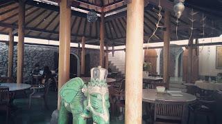ruang gajah di Gadjah Wong Resto