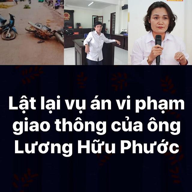 Cùng lật lại vụ án vi phạm giao thông của ông Lương Hữu Phước