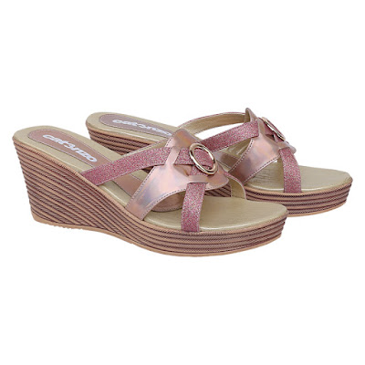 Sandal Wedges Wanita Catenzo ZA 037