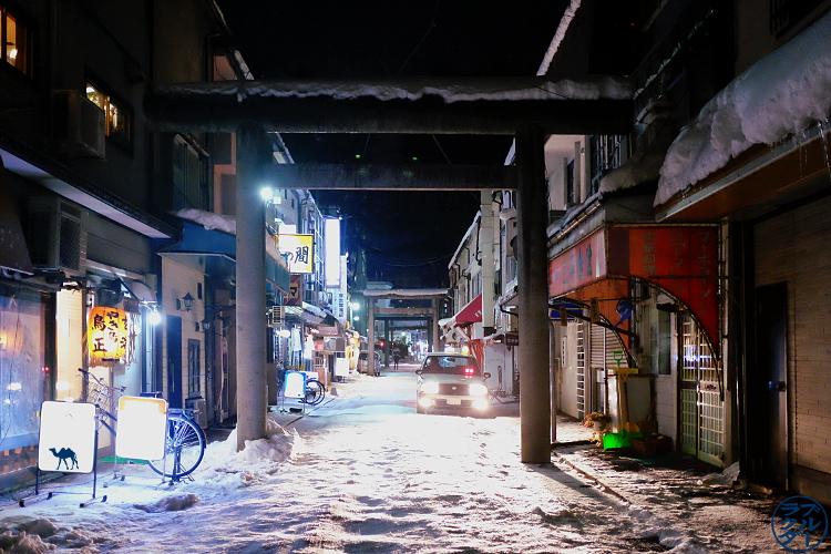 Le Chameau Bleu - Blog Voyage Japon - Voyage au Nord du Japon - Tohoku - Rue de Morioka