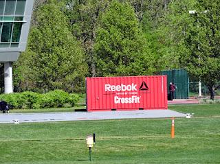Reebok HQ, Canton, Mass. - CrossFit crate