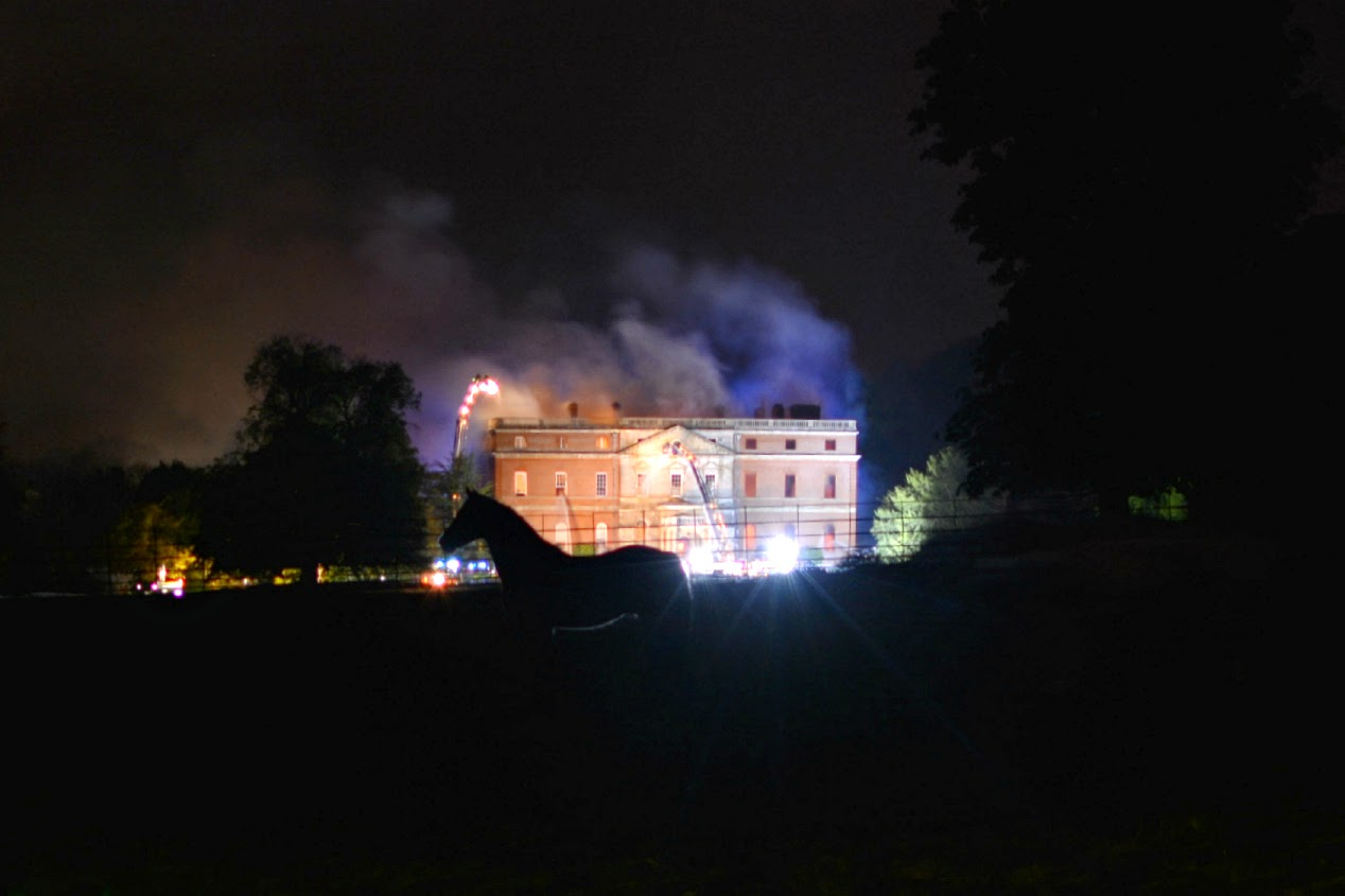 clandon park house fire